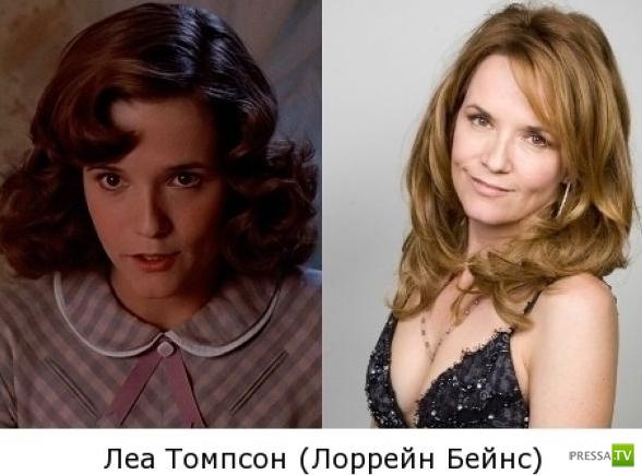 """Герои """"Назад в будущее"""" 25 лет спустя (6 фото)"""