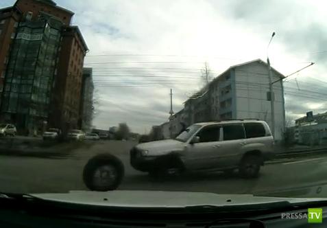 Отвалилось колесо... в Иркутске