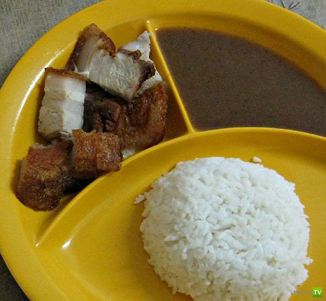 Из чего состоит школьный обед в разных странах? (22 фото)