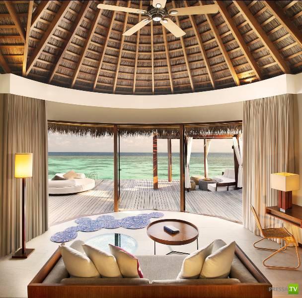 Ayada Maldives - шикарная вилла на Мальдивах ... (15 фото)