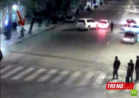 Цепная авария в Баку...