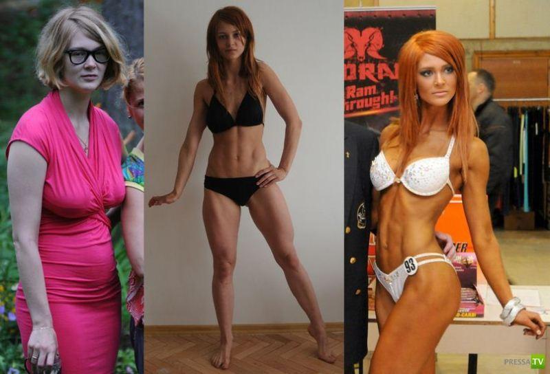Как спорт меняет человека (7 фото)