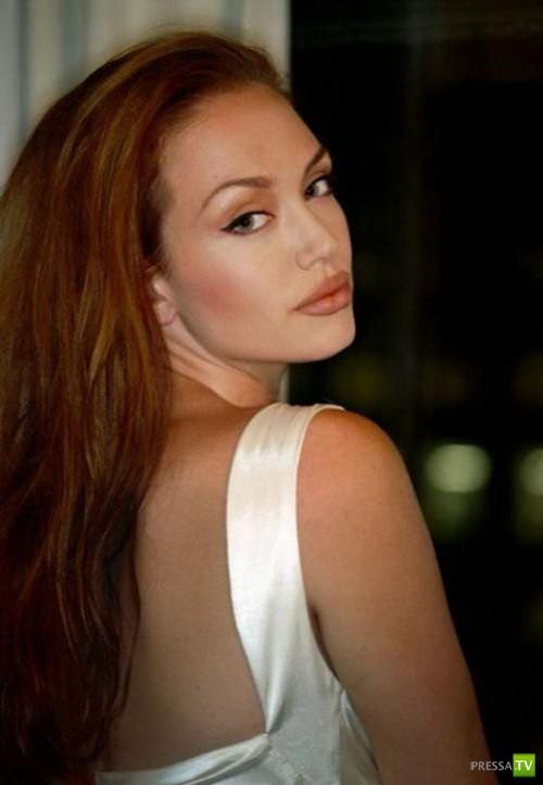 Тиффани Клаус - двойник Анджелины Джоли! (16 фото)