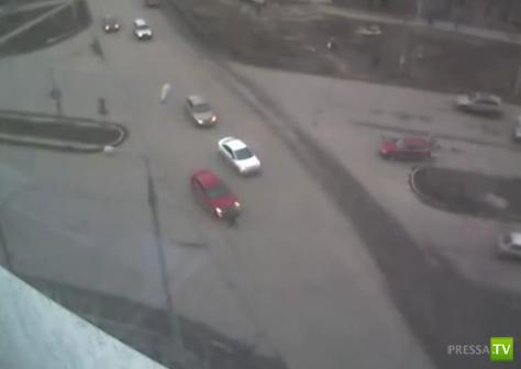 Сбили пешехода в Перми...