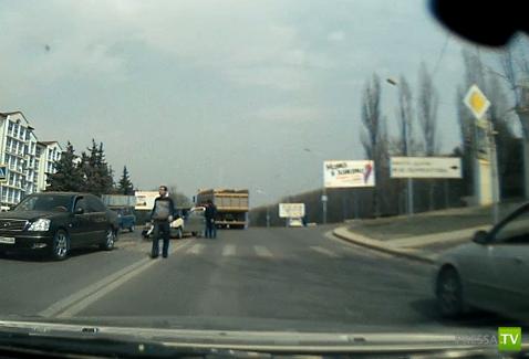В Пятигорске сбили девушку на переходе