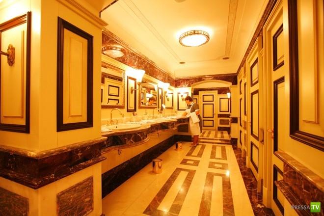 Самый дорогой туалет Москвы (13 фото)