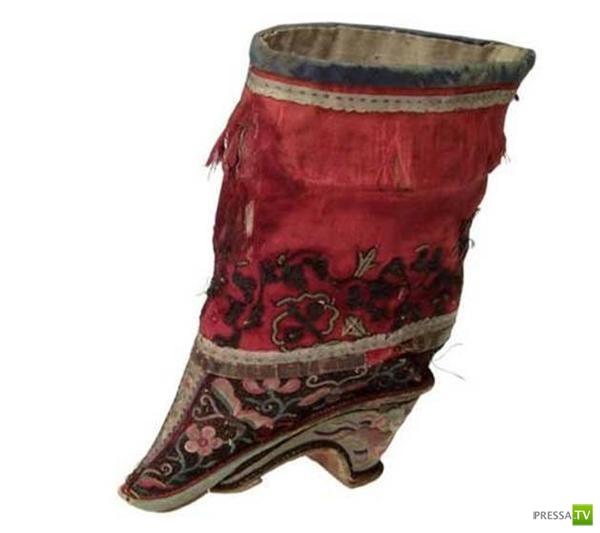 Традиции Древнего Китая. «Лотосовая ножка» (8 фото)
