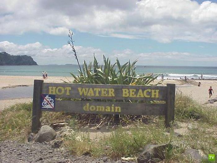 Природный спа-курорт в Новой Зеландии (4 фото)