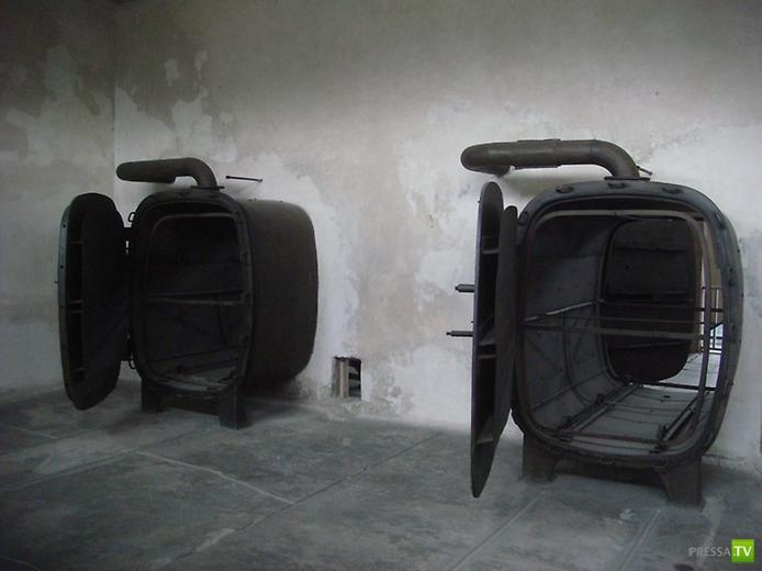 Польша. Концлагерь Освенцим. Музей Аушвиц-Биркенау (14 фото)