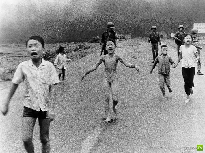 Война во Вьетнаме. История одной фотографии (2 фото + видео)