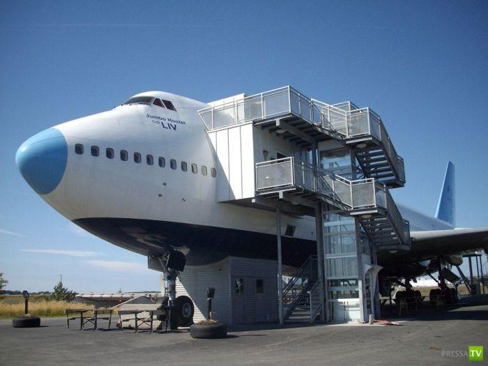 Необычная гостиница - Arlanda Airport Hotel (14 фото)
