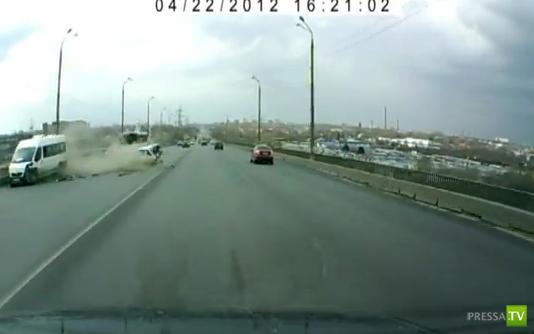 Столкновение на Мызинском мосту