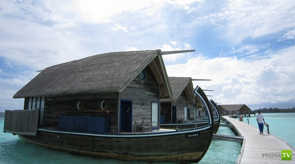 Cocoa Island Resort на Мальдивах - лодочный отель (19 фото)