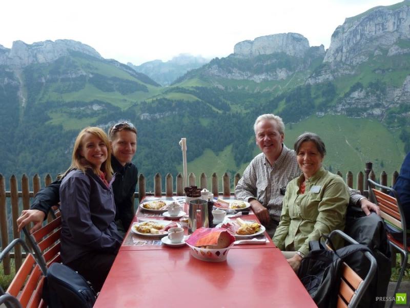 Вильдкирхли, (нем. Wildkirchli) - популярное место в Швейцарии (7 фото)