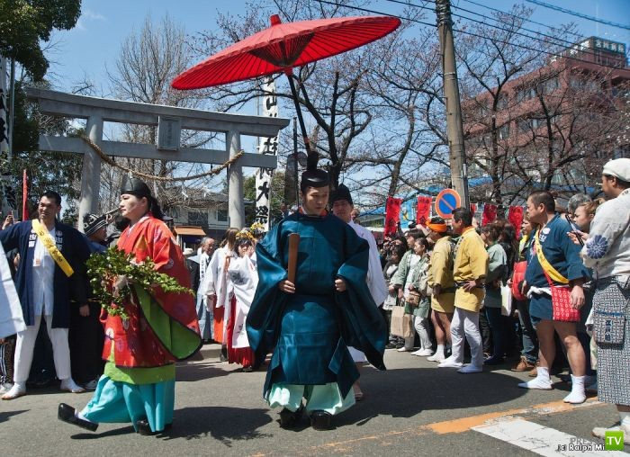 Праздник фаллоса в Японии (30 фото)