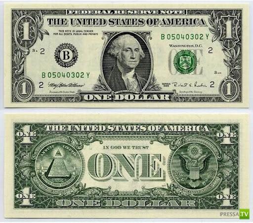 Тайна купюры в 1 доллар (6 фото)