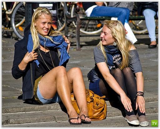 Как появились блондинки? (3 фото)