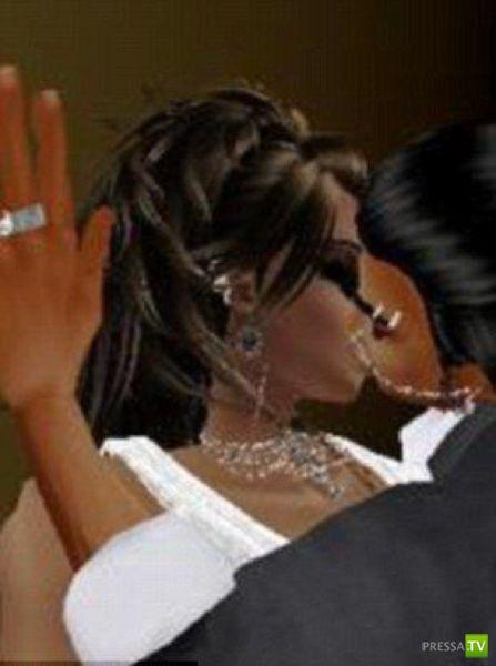 Интернет поженил сначала виртуально, а потом и реально (10 фото)