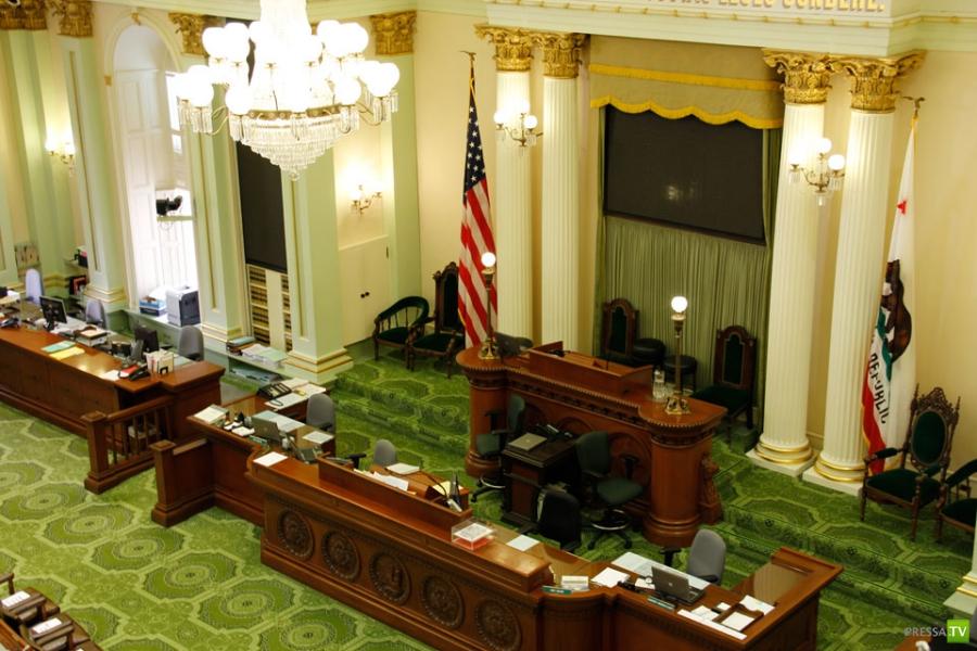 Капитолий в штате Калифорния (33 фото)