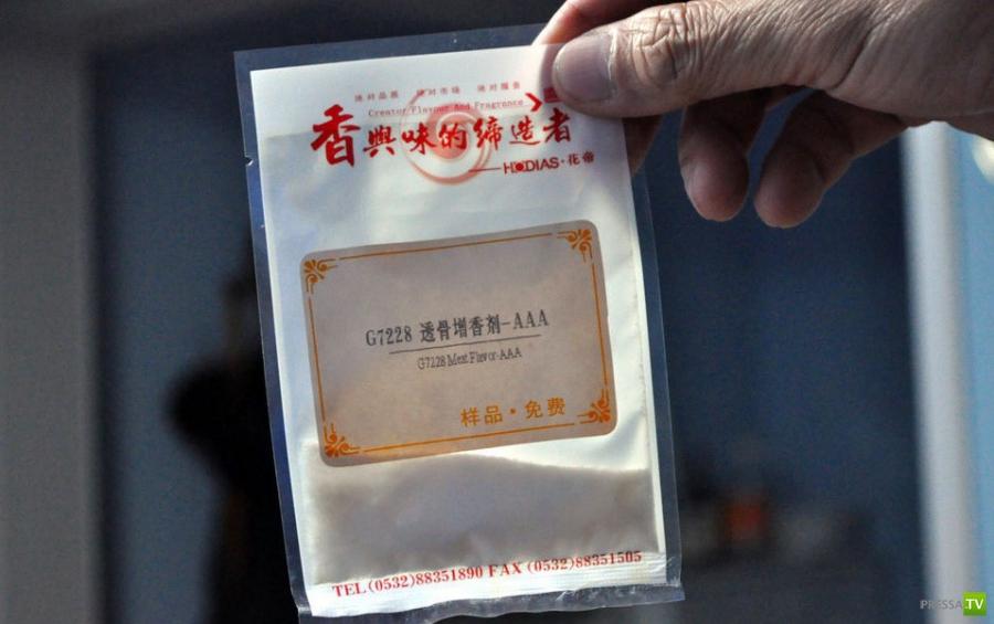 Как в Китае подделывают мясо ... (10 фото)