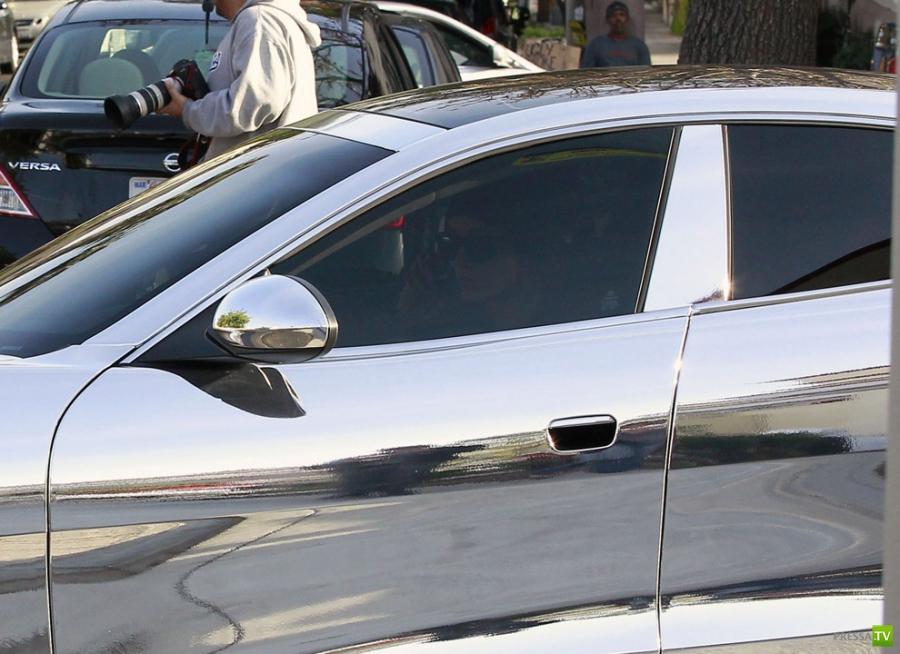 Ослепительный  автомобиль Джастина Бибера (5 фото)