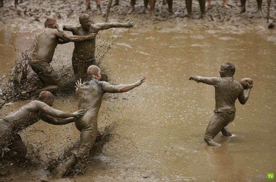 Необычные виды спорта (8 фото)