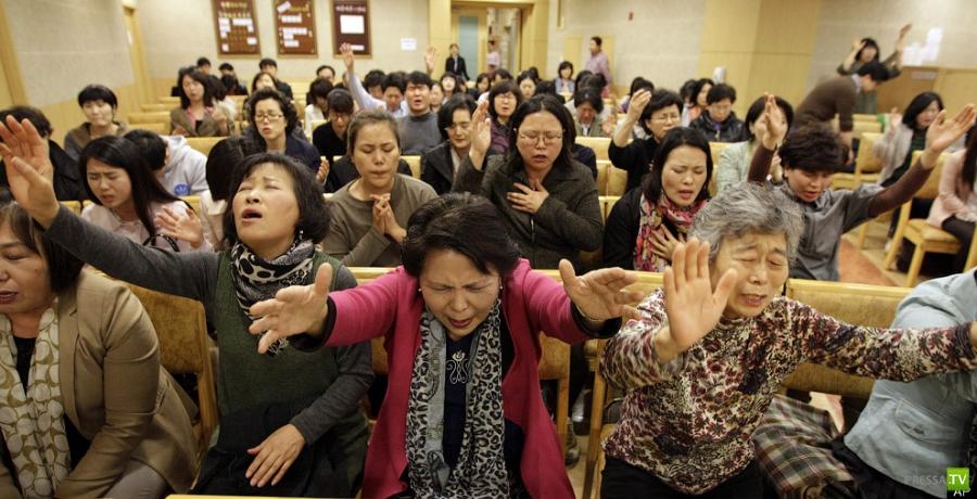 Южная Корея против леди Гаги (11 фото)