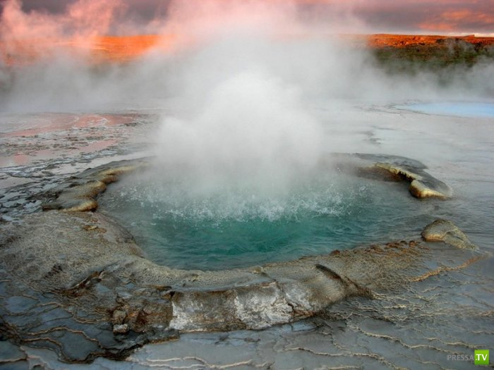 Страна гейзеров - Исландия (9 фото)