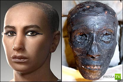 Тутанхамон погиб в авиакатастрофе?!? (2 фото)
