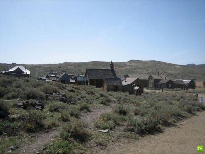 Городок Bodie - настоящий Дикий Запад (13 фото)