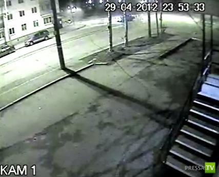 Неудачный поворот... Авария в Краснотурьинске