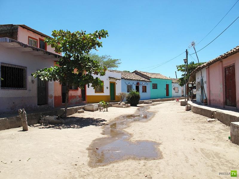 Город-остров Мескальтитан (Mexcaltitan) - колыбель ацтеков (12 фото)