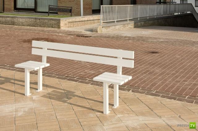 Безумные скамейки в Бельгии (19 фото)
