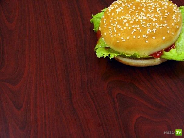 Если бутерброд упал на пол...