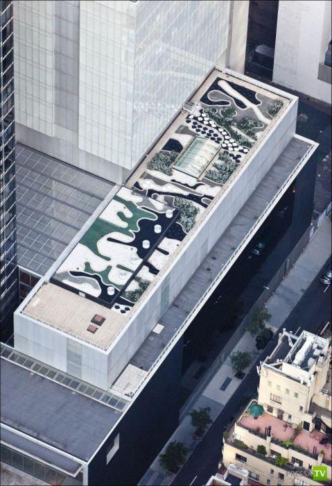 Крыши Нью-Йорка (15 фото)