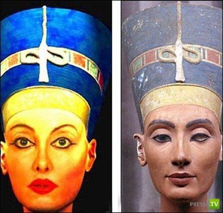 Нилен Намита стремится стать Нефертити (5 фото)
