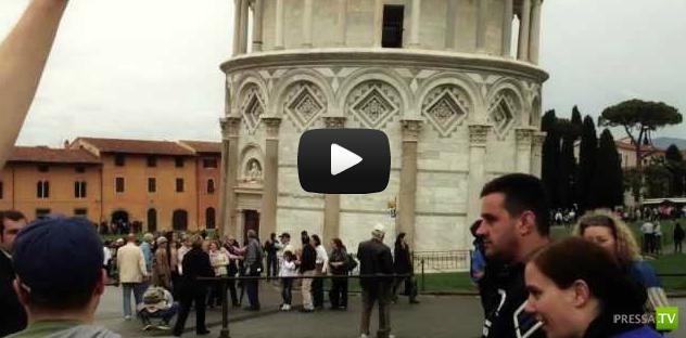 Будете в Пизе, обязательно попробуйте! (видео)
