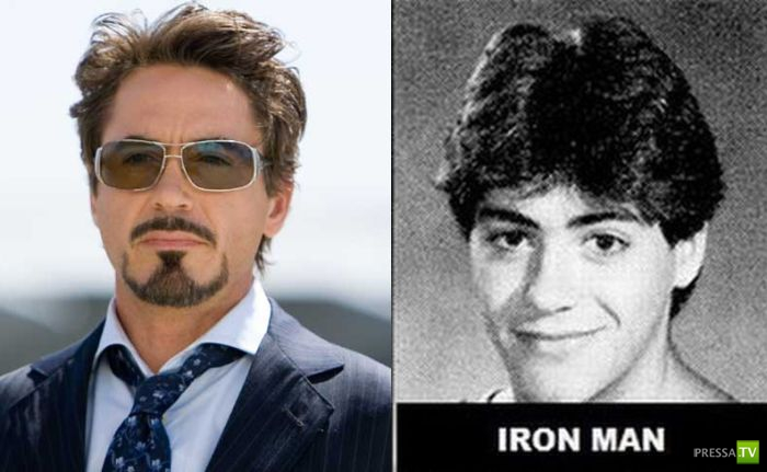 """Когда """"Мстители"""" были молодыми (6 фото)"""