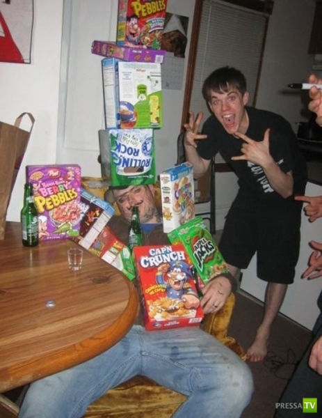 Не хотите быть пьяным посмешищем? Не пейте... (32 фото)