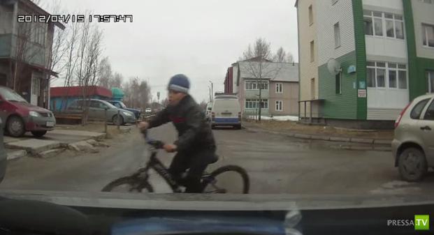 Малолетний велосипедист... ДТП в Нефтеюганске