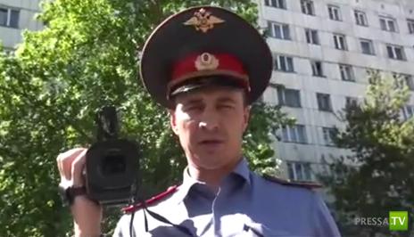 Инспектор и водила... Разборки на дороге в Челябинске