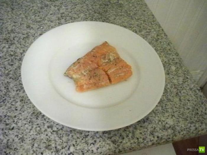 Оригинальный рецепт из Австралии - рыба в посудомоечной машине (6 фото)