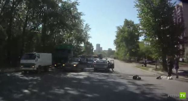 Сбили пешехода в Екатеринбурге...