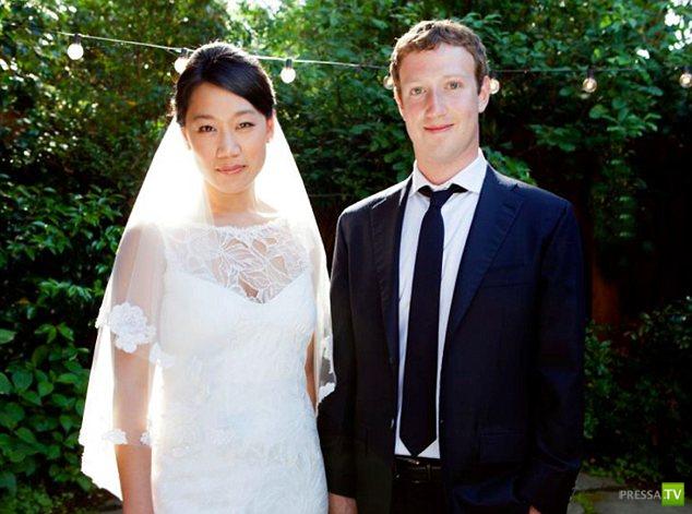 Марк Цукерберг женился (10 фото)