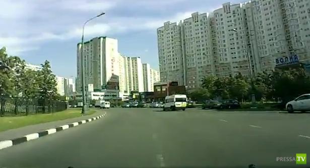 Долетался... ДТП в Москве, м.Братиславская