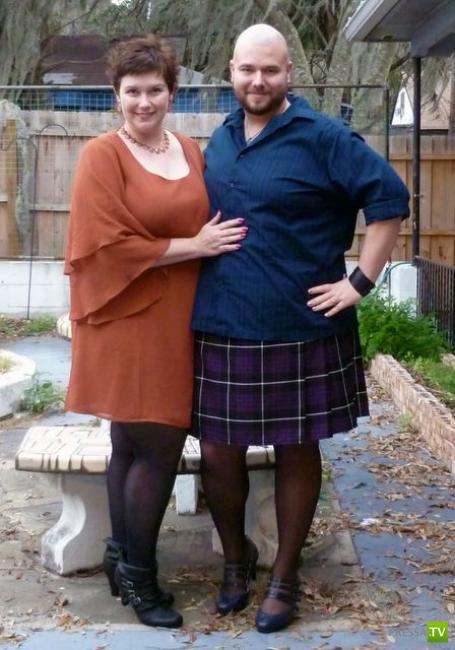 мужики в женском одежде