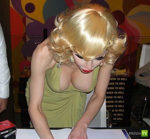 Известная транс- эромодель - Аманда Лепур (9 фото)