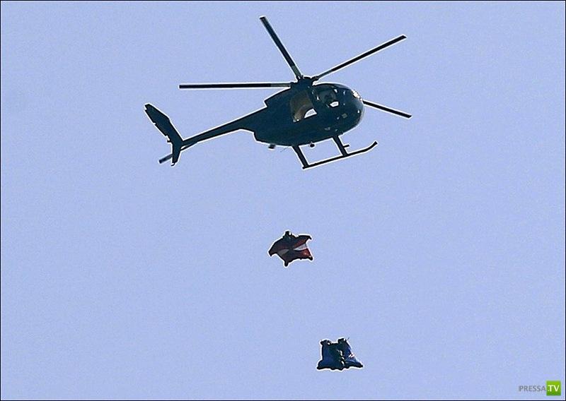 Каскадер Гари Коннери  совершил прыжок без парашюта с высоты 730 метров (5 фото + видео)