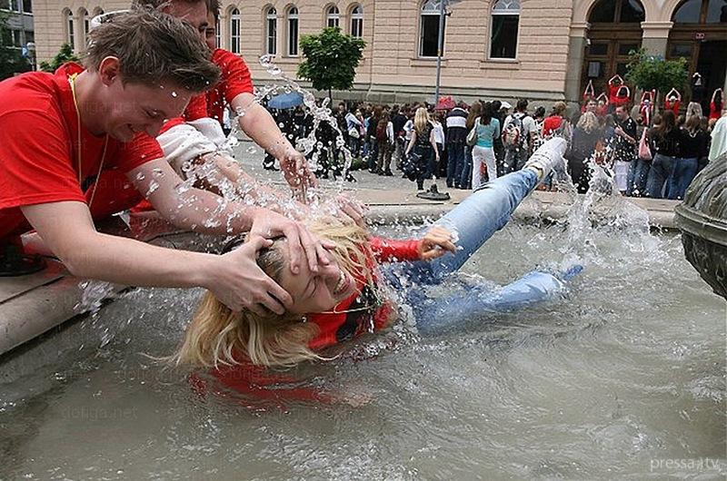 Вот, это Выпускной!!! Так гуляют в Хорватии... (45 фото)
