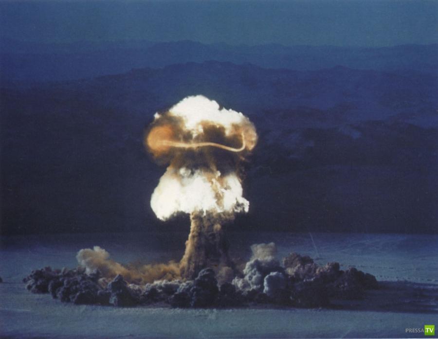 На Земле была ядерная война...